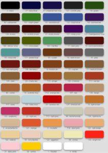 Карта Цветов IEXI