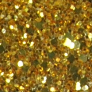 Glitter цвет крупный золото