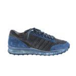 Обувь на B4009 бело-синяя растушевка